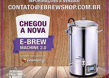 Maquinário para fazer cerveja